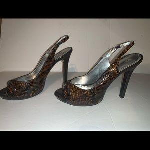 Gianni Bini Stiletto Peep toe 8.5 M Heels